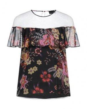 Блузка ATOS LOMBARDINI. Цвет: черный