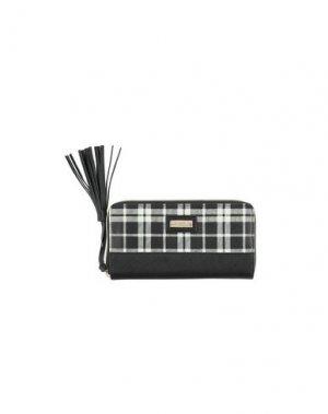 Бумажник CAMOMILLA. Цвет: черный
