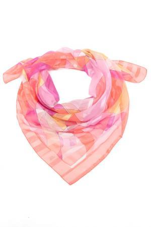 Платок F.FRANTELLI. Цвет: розовая кайма