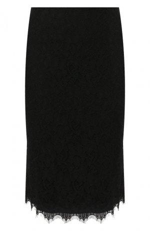 Юбка-миди Diane Von Furstenberg. Цвет: черный
