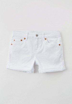 Шорты джинсовые Levis® Levi's®. Цвет: белый