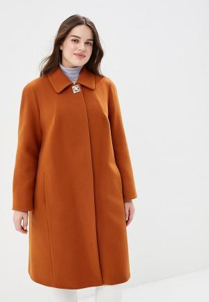 Пальто Симпатика MP002XW1411O. Цвет: оранжевый
