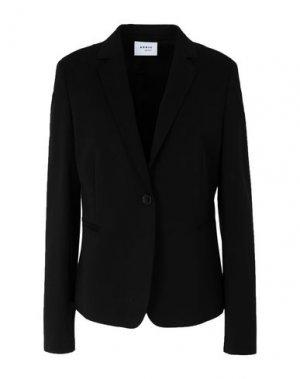Пиджак AKRIS PUNTO. Цвет: черный
