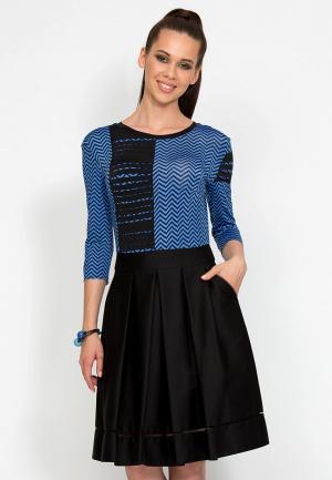 Платье D.VA MP002XW1GMJA. Цвет: черный