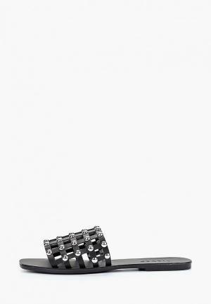 Сабо Pieces. Цвет: черный