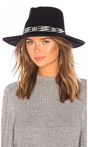 Шляпа santa fe ale by alessandra. Цвет: черный