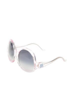 Очки солнцезащитные Balenciaga. Цвет: none