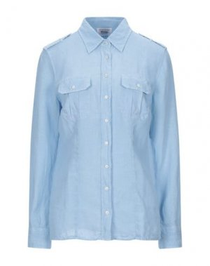 Pубашка GRAN SASSO. Цвет: небесно-голубой