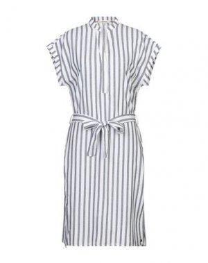 Платье до колена GARCIA. Цвет: белый