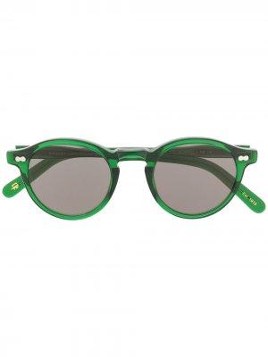Солнцезащитные очки Miltzen Moscot. Цвет: зеленый