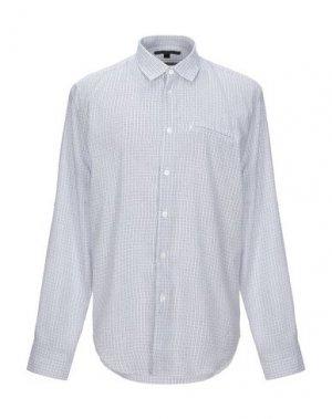 Pубашка JOHN VARVATOS. Цвет: темно-синий