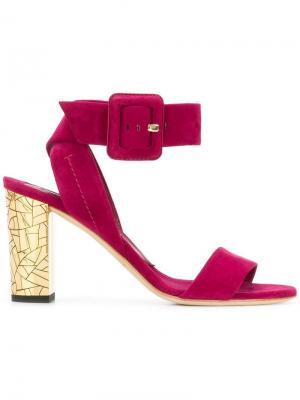 Туфли с ремешком Brian Atwood. Цвет: розовый