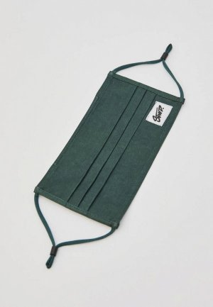 Маска защитная Pull&Bear. Цвет: зеленый