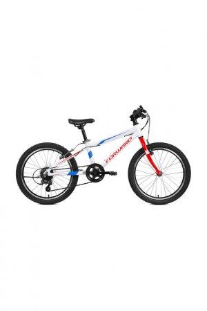 Велосипед RISE 20 2.0 2019 Forward. Цвет: белый, красный