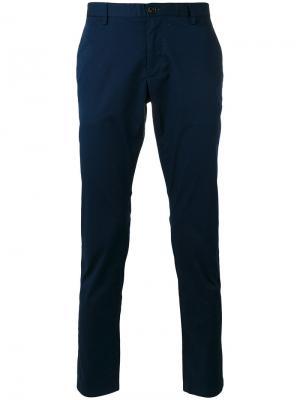 Классические брюки Michael Kors Collection. Цвет: синий