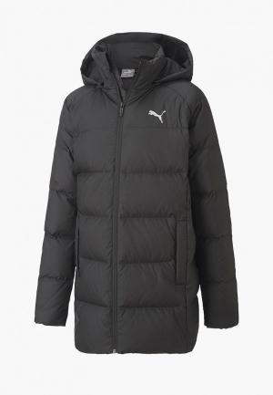 Пуховик PUMA Long Down Jacket G. Цвет: черный