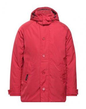 Пальто HENRI LLOYD. Цвет: красный
