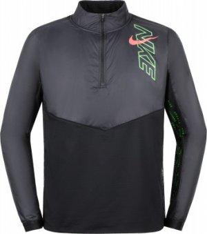 Олимпийка мужская Element Air, размер 44-46 Nike. Цвет: черный