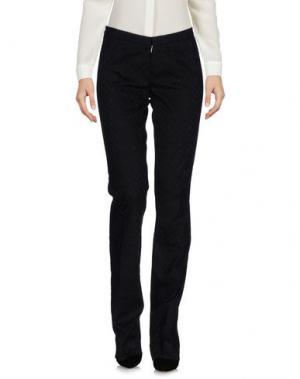 Повседневные брюки PT01. Цвет: черный