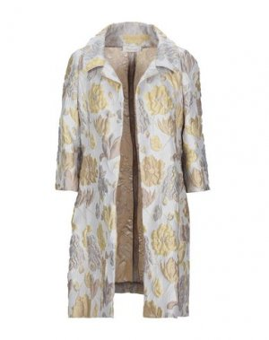 Легкое пальто BOTONDI COUTURE. Цвет: серый