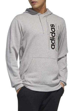Толстовка M BB HDY adidas. Цвет: серый