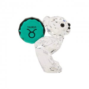 Скульптура Kris bear Taurus Swarovski. Цвет: прозрачный