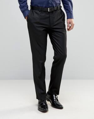 Зауженные брюки под смокинг Premium Jack & Jones. Цвет: черный