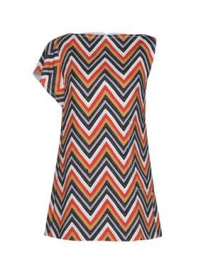 Блузка AQUILANO-RIMONDI. Цвет: верблюжий