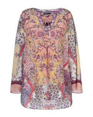 Блузка HALE BOB. Цвет: розовый