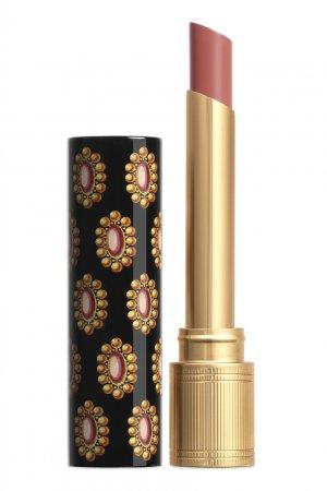 Rouge de Beauté Brillant – Помада сияние и уход 112 Sally Soft Honey Gucci Beauty. Цвет: бежевый