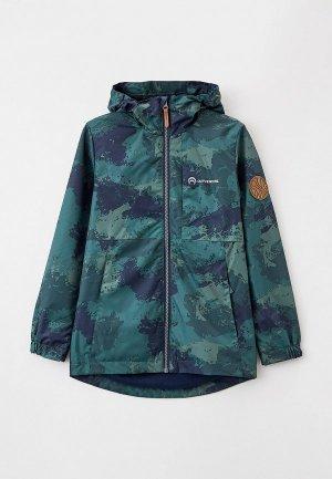 Куртка Outventure. Цвет: зеленый