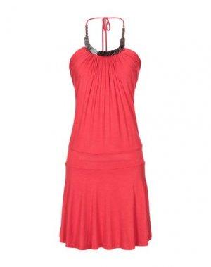 Короткое платье KILLAH. Цвет: красный