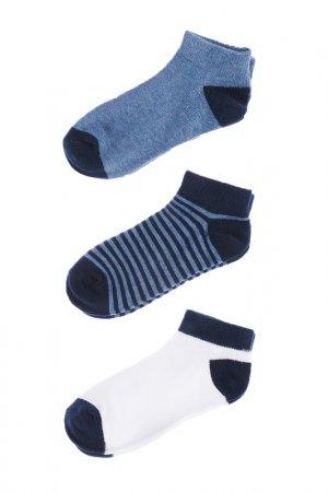 Носки, 3 шт 5.10.15.. Цвет: темно-голубой