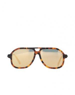 Солнечные очки PHILIPP PLEIN. Цвет: коричневый