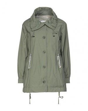 Куртка HETREGO'. Цвет: зеленый-милитари