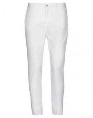 Повседневные брюки FRACOMINA. Цвет: белый