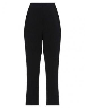 Повседневные брюки KAOS. Цвет: черный