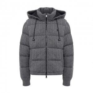 Пуховая куртка Polo Ralph Lauren. Цвет: серый