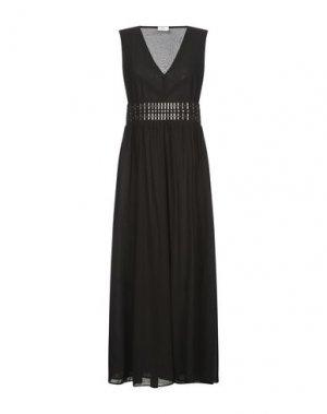 Длинное платье REBEL QUEEN by LIU •JO. Цвет: черный