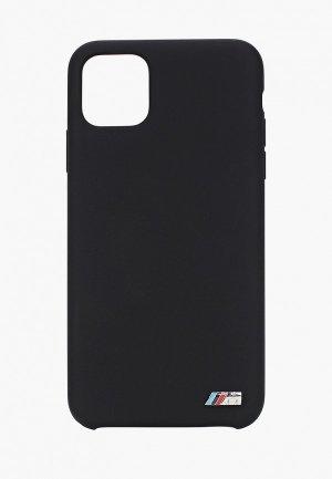 Чехол для iPhone BMW 11 Pro Max, M-Collection Liquid silicone Black. Цвет: черный