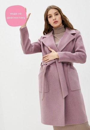Пальто Vivaldi. Цвет: розовый