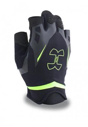 Перчатки для фитнеса Under Armour UA Flux Mens. Цвет: черный