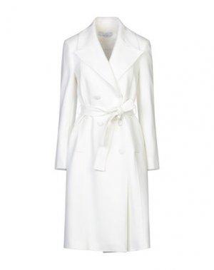 Легкое пальто KAOS. Цвет: белый