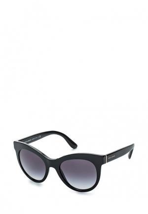Очки солнцезащитные Dolce&Gabbana DG4311 501/8G. Цвет: черный