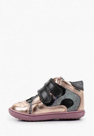 Ботинки Bartek. Цвет: золотой