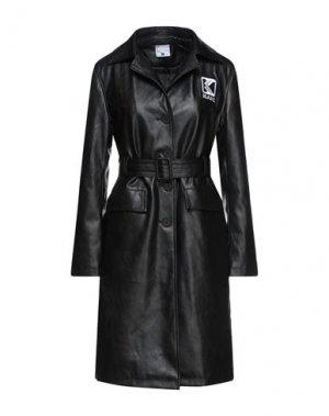 Легкое пальто KARL KANI. Цвет: черный