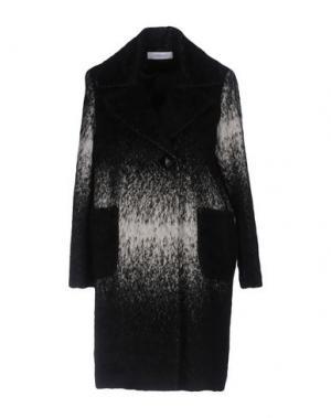 Пальто CRISTINAEFFE. Цвет: черный