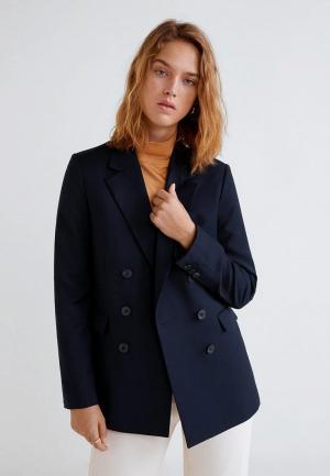 Пиджак Mango - MELCHOR. Цвет: синий