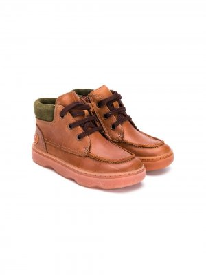 Runner Four lace-up boots Camper Kids. Цвет: коричневый