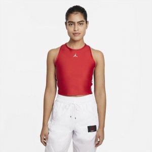 Женский укороченный топ Jordan Essentials - Красный Nike